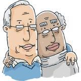 Senior Gay Couple Royalty Free Stock Photos