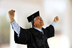Senior Graduate Stock Photo