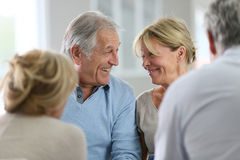 Senior group therapy Stock Photography