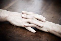 Senior hands Royalty Free Stock Photography