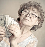 Senior happy woman Stock Photo