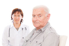Senior health Royalty Free Stock Photo