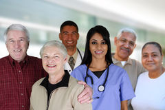 Senior Health Care Stock Image