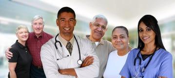Senior Health Care Royalty Free Stock Photos