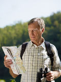 Senior hiker Stock Photography