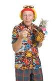 Senior on Holiday Royalty Free Stock Image