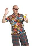 Senior on Holiday Royalty Free Stock Photo