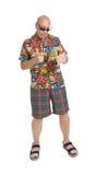Senior on Holiday Royalty Free Stock Images