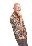 Senior on Holiday Stock Image