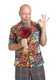 Senior on Holiday Stock Images