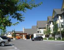 Senior Houseing Complex Royalty Free Stock Photos