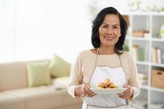 Senior housewife Stock Photos