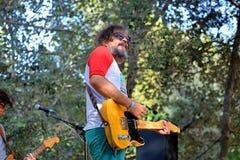 Senior i el Cor Brutal (band) in concert at Vida Festival Stock Photo