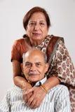 Senior Indian couple Stock Images
