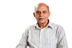 Senior Indian man Stock Images