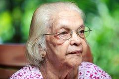 A senior Indian woman Royalty Free Stock Photos