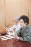 Senior Japanese Stock Photography
