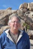 Senior in Joshua Tree National Park California Royalty Free Stock Photo