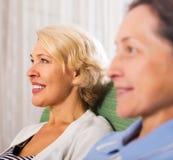 Senior ladies royalty free stock photo