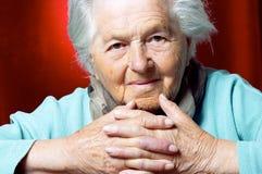 Senior lady Stock Photography