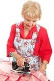 Senior Lady Irons Stock Photos
