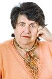 Senior lady portrait Royalty Free Stock Photo