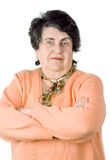 Senior lady portrait Royalty Free Stock Photography