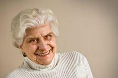 Senior lady portrait stock photos