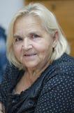 Senior lady portrait Stock Photography