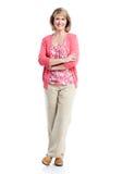 Senior lady. Royalty Free Stock Photos