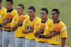 Senior league baseball world series anthem stock photography