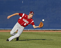 Senior league baseball world series centrefield Stock Photography