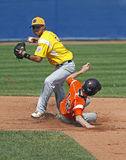 Senior league baseball world series players Royalty Free Stock Photography