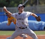 Senior league baseball world series righthander Stock Images