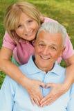 Senior-Liebe Stockbilder