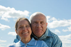 Senior love Royalty Free Stock Photos