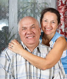 Senior love Royalty Free Stock Photography