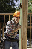 Senior male construction worker Royalty Free Stock Photography