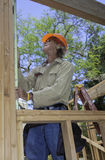 Senior male construction worker Royalty Free Stock Photos