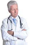Senior male doctor Stock Images