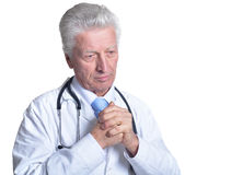 Senior male doctor Royalty Free Stock Photography