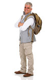Senior male hiker Royalty Free Stock Photography