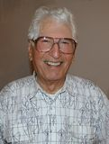 Senior Man. Portrait of retired,elderly man with white hair,smiling,on his 90th birthday stock photos