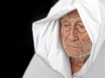 Senior man in cape Stock Images