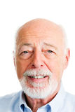 Senior Man - Closeup Head Shot Stock Photography