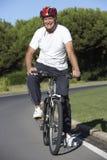 Senior Man On Cycle Ride Stock Image