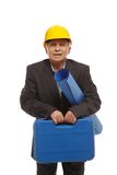 Senior man engineer Stock Photography