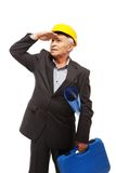Senior man engineer Stock Image