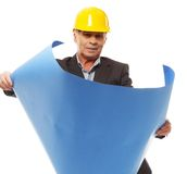 Senior man engineer Royalty Free Stock Photo