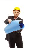 Senior man engineer Royalty Free Stock Image